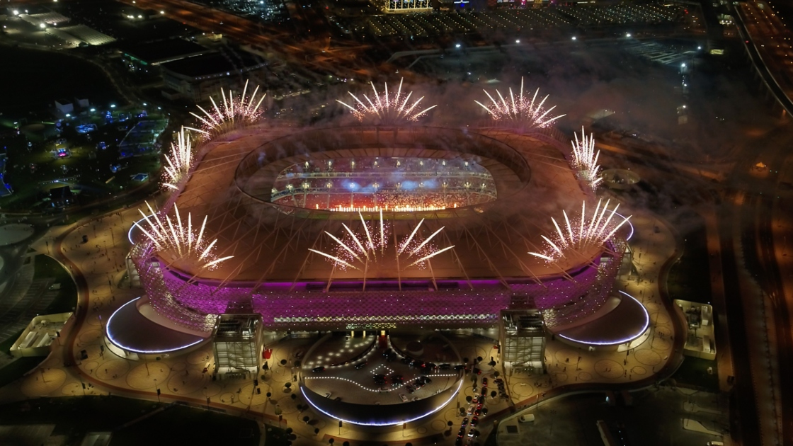 Qatar 2022 stadium in Al Rayyan unveiled to the world in spectacular launch